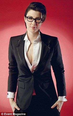 Basically, I want to look like Sue Perkins when I go to ...