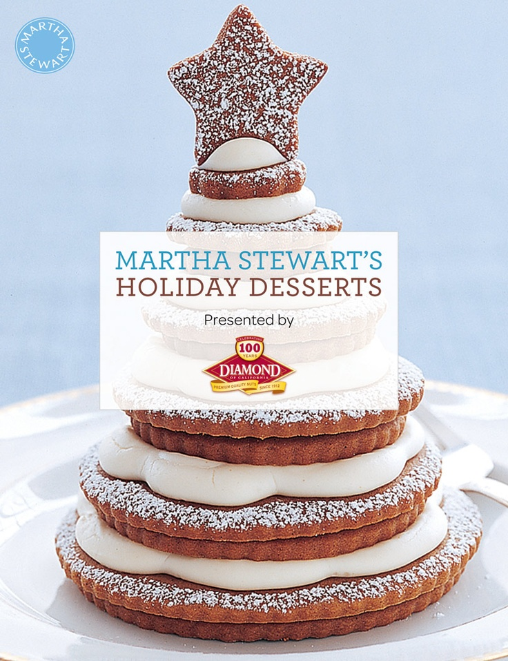FREE Mini Christmas Desserts Cookbook from Martha Stewart! | See more about