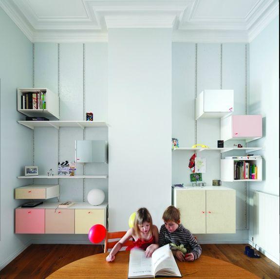 Doorzon Architecten Closets Architecture Interior Design KidsroomClosetsStockholmBebe