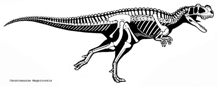Pin van Tsjok DeClercq op Dinosauricon C : Ceratosaurus