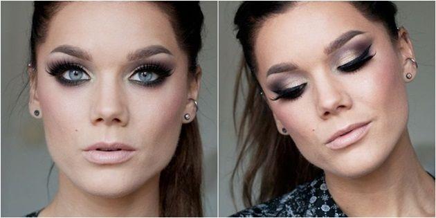 2016 Makyaj Trendleri Smokey Göz Makyajı Uygulaması