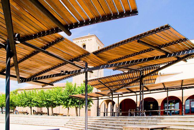 Pergolas. Parets del Valles. Miralles Pinos Architects