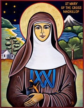 Australia's first Saint - St Mary MacKillop--Saint Mary showed compassion for anyone in need, regardless of race, colour or faith, and a reverence for the dignity of others, especially those most neglected in society.