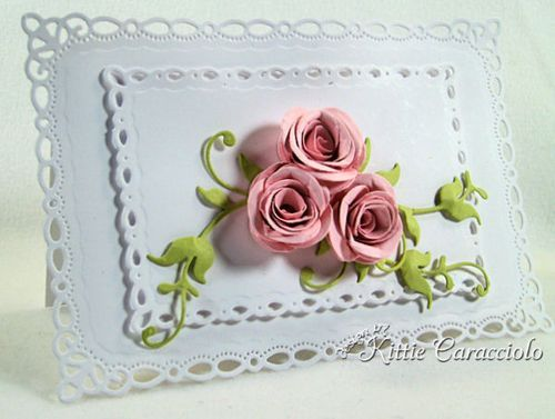 KC MFT Mini Rolled Roses  KittieKraft