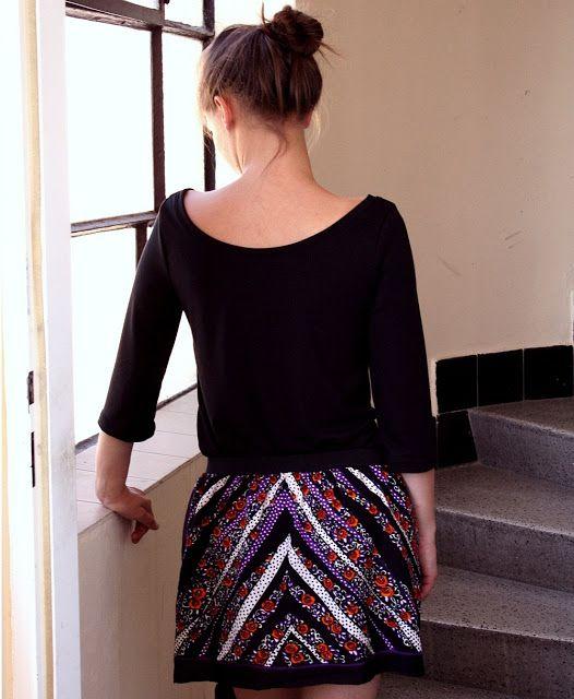... a little diy blog: DIY Skirt from scarf