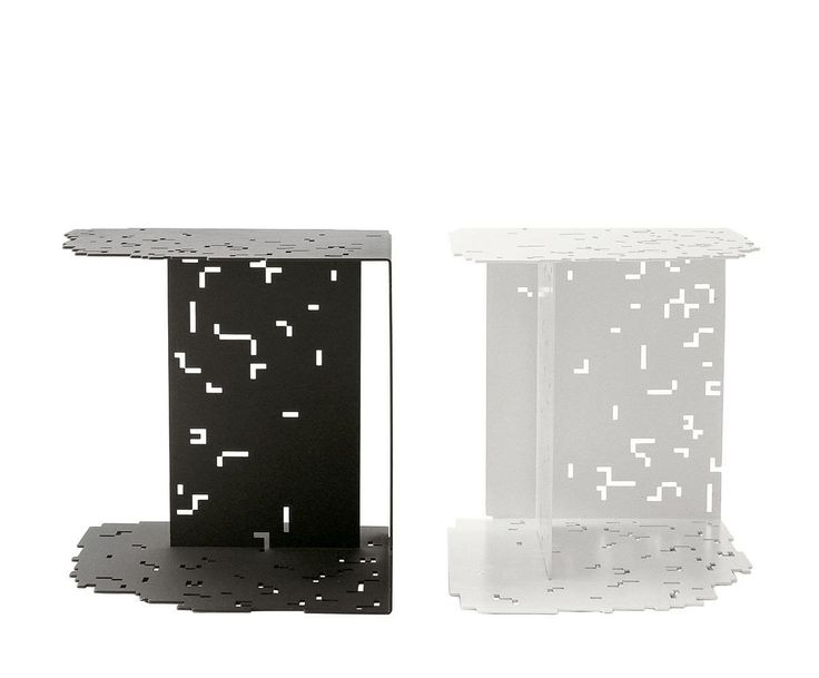 Side table / contemporary / sheet steel / indoor - DIGITABLE - B&B Italia