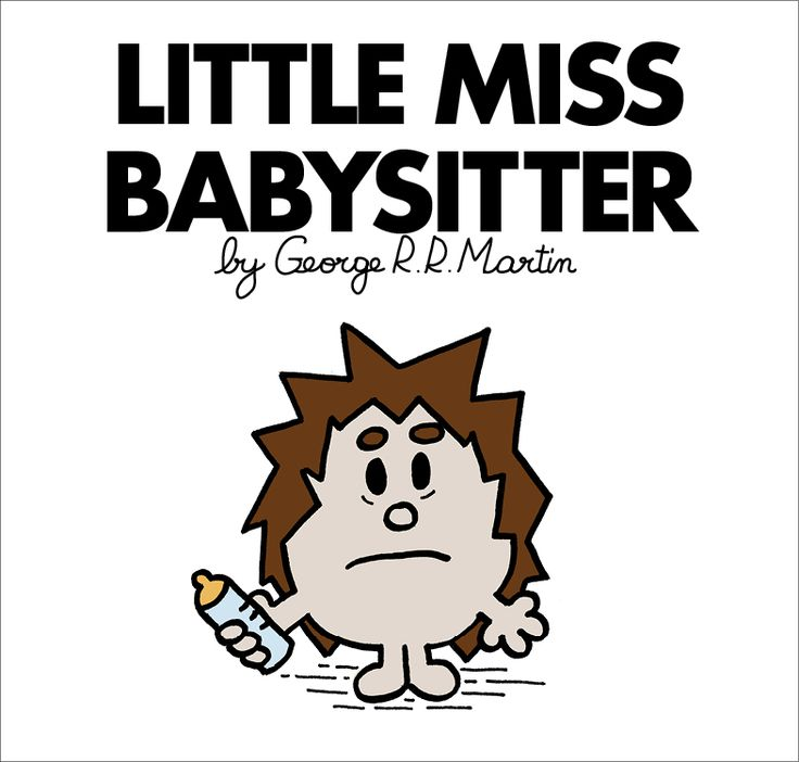 Mr. Men and Little Miss Game of Thrones characters - Little Miss Osha