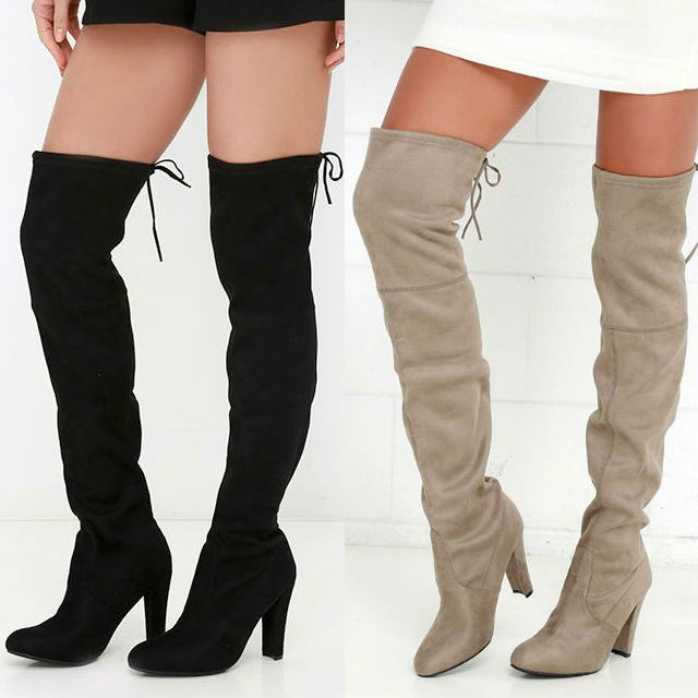 bc7cf0ee556 Red Stretchy Over The Knee Boots