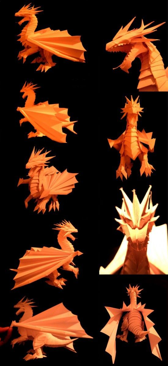 Paper brought to life. The amazing papercraft skills of Richard Wong