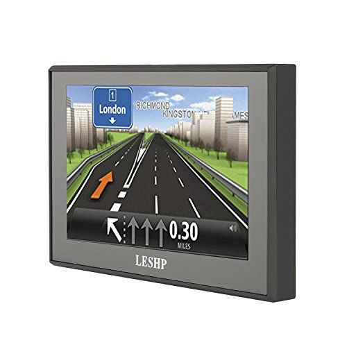 Sat Nav, LESHP 5 Inch Car GPS Navigation with UK Ireland Europe Maps & Free Lifetime Map Updates,8GB    ★【sat navs update website :http://www.tddgps.com, Update video on youtubehttps://www.youtube.com/watch?v=paRlUdeqz_A】,★【Easily search addresses and millions of points of interest】Preloaded UK,Ireland,Europe Maps and Free lifetime map updates,★