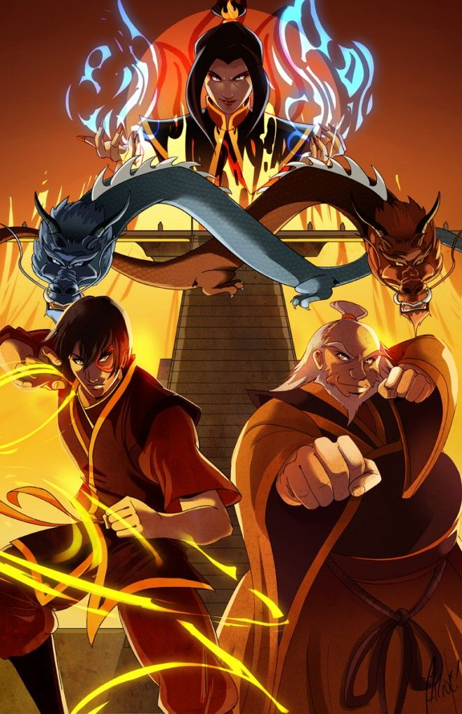 Avatar: The Last Airbender - Fire   Avatar Fandom   Pinterest