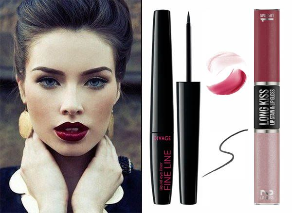 #divage #makeup #lips #red