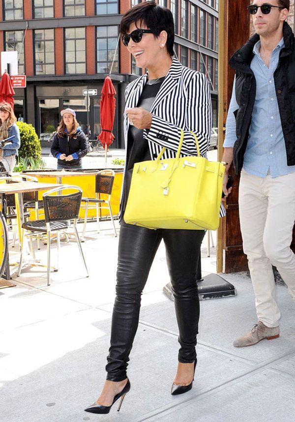 Celebrities wearing neon fashion