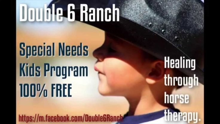 Double 6 Ranch Special Needs Kids Program: Heartwarming clip shares the joy and the healing power a horse can have. #payitforward #angelsamongus #double6ranch