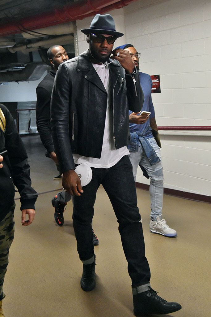 LeBron James: He's not only bringing his talent back home, he's bringing his sense of style with him. [Photo: Jesse D. Garrabrant/NBAE via Getty]