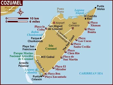 Our sweet safe beautiful Island   I specialize on the North Shore selling high rise condominiums and land. Patsy Chilson 808-214-7677  Yes it is a Hawaii number but I live on Cozumel most of the year.