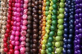 beads! Quito market, ecuador!