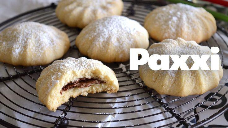 Γεμιστά μπισκότα με πραλίνα - Paxxi 1min C107