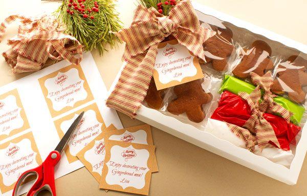 Gingerbread cookies gift