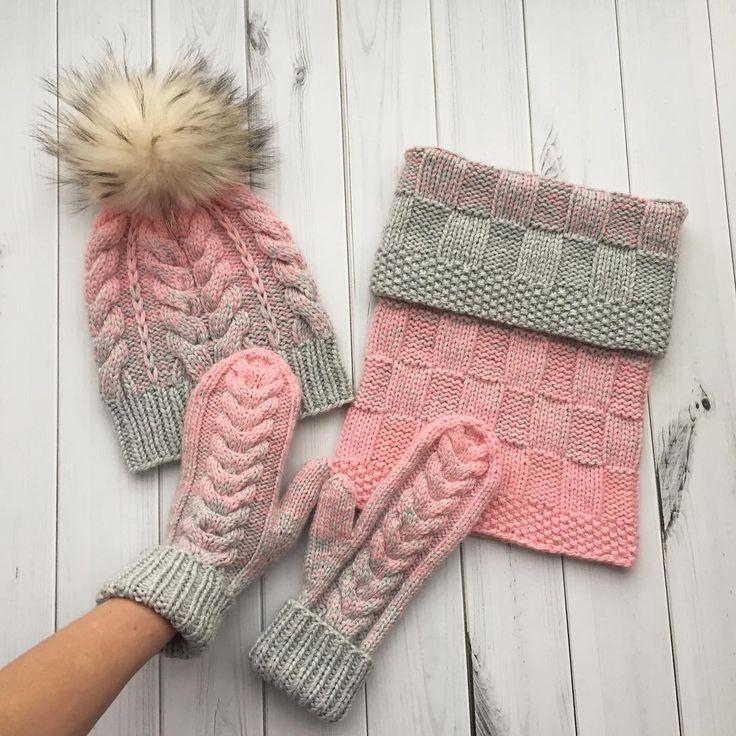 Всем доброго дня ✨! У меня снова серо-розовый комплект. Я даже и представить не могла, что девочки всех возрастов так любят розовый цвет . P.S.: цена комплекта шапка и снуд 5500₽, варежки 2500₽ . . . #iloveknitting #i_loveknitting #knitting_inspire #knitting_inspiration #knit #knitting #knitwear #style #stylish #fashion #look #lookoftheday #вяжу #вязание #вяжуназаказ #вязаниеназаказ #стиль #стильно #мода #модно #снуд #снудназаказ #шапкаснуд #вязаныйснуд #шапкасмеховымпомпоном #шапка #ш...