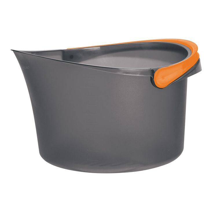 Casabella.com - 2.5 Gallon Bucket, $12.99 (http://casabella.com/2-5-gallon-bucket/)