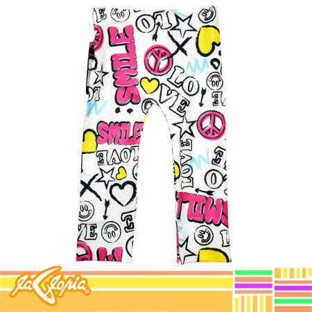 #Colores enérgicos y vibrantes en #Leggins #estampados para #niñas #tiendalagloria