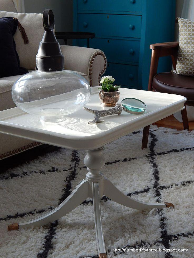 Antique White Coffee Table | Hometalk