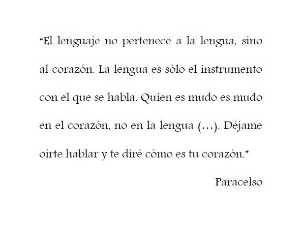 #paracelso #lenguaje #lengua