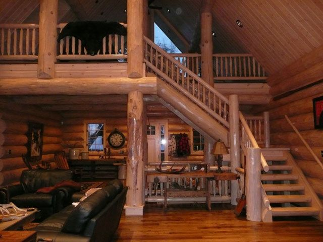 Www.helpusell Properties.com Luxury Log Homes Gallery | Log Homes Wisconsin  |