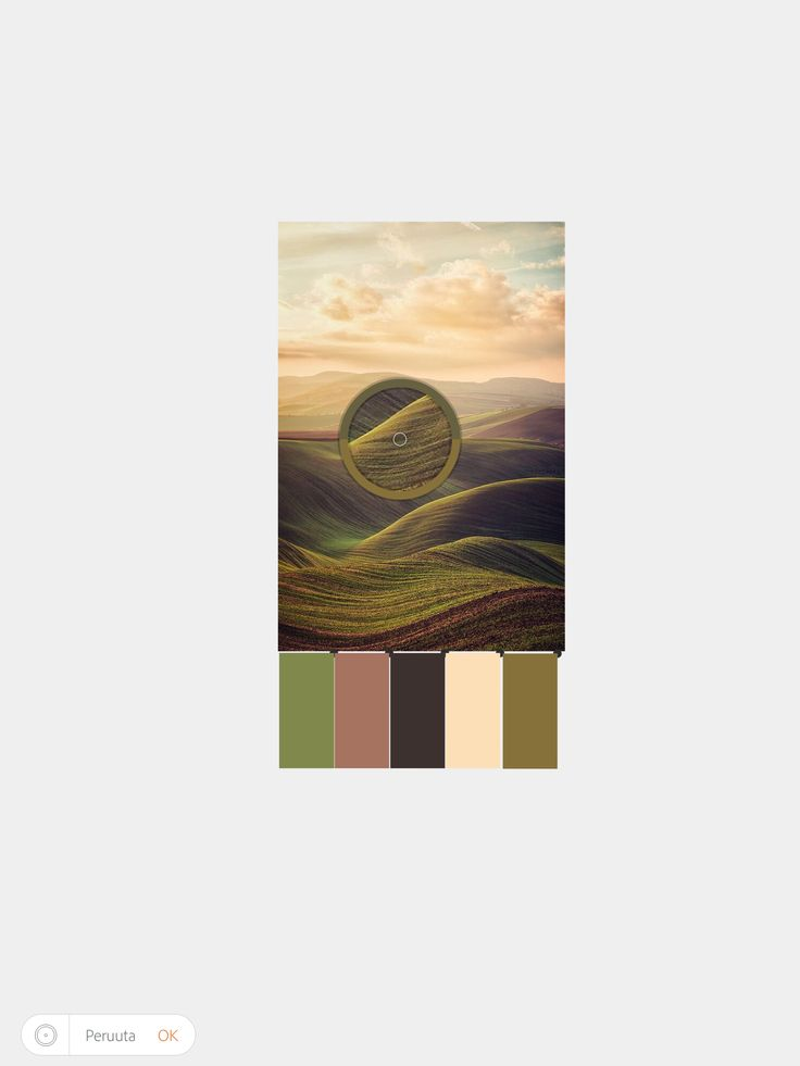 Värin valitseminen kuvasta pipetillä