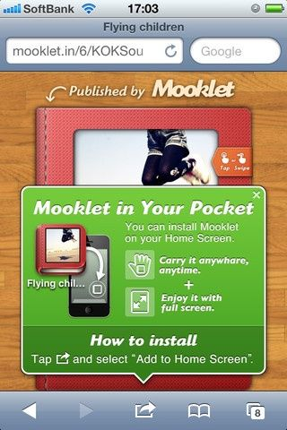 App Store - Mooklet - Create dynamic Photo Story Books and publish them!