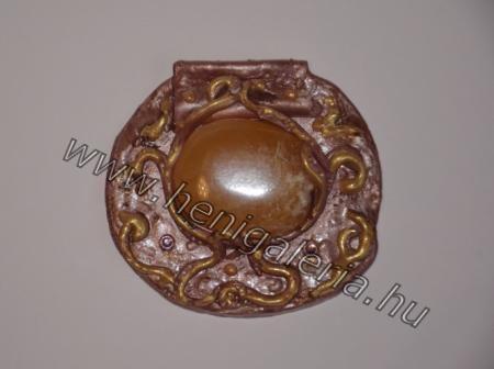 Gallery of Pendants Nap medál, narancskalcit / Sun medal, orange calcit