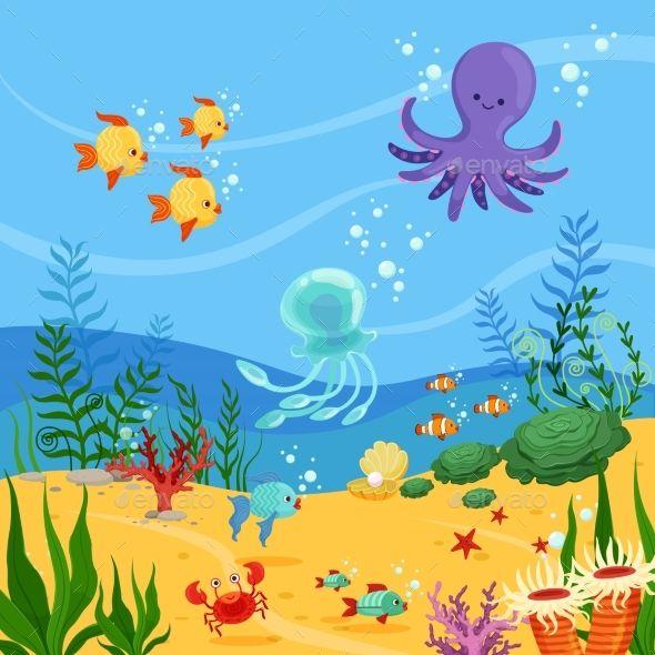 Underwater Clipart Background Jpg 1600 1200 Under The Sea Clipart Underwater Underwater World