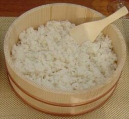 This is the recipe for Sushi rice that I have learned from my father, the Sushi chef at Minado sushi. Its not really a secret recipe, many restaurants prepare rice this way, but it produces really great rice. More of a technique than anything. This is a response to a request in the forum and I hope you guys like it!