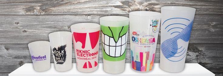 Ecocup : Gobelets plastics réutilisables personnalisés: Ecocup.eu