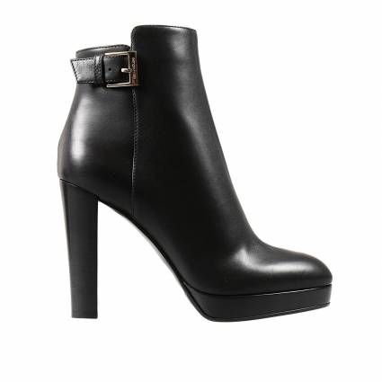 Ankle boots Sergio Rossi | Leather | #fashion #style #black #shoes
