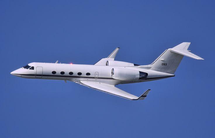 Gulfstream Aerospace Gulfstream III C-20G-aircraft for the US Navy.