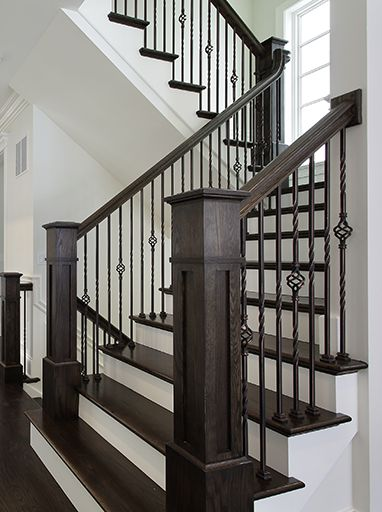 We Offer Commercial Or Residential Iron Balusters For Staircase Handrail  Systems In Both Modern And Traditional Designs.