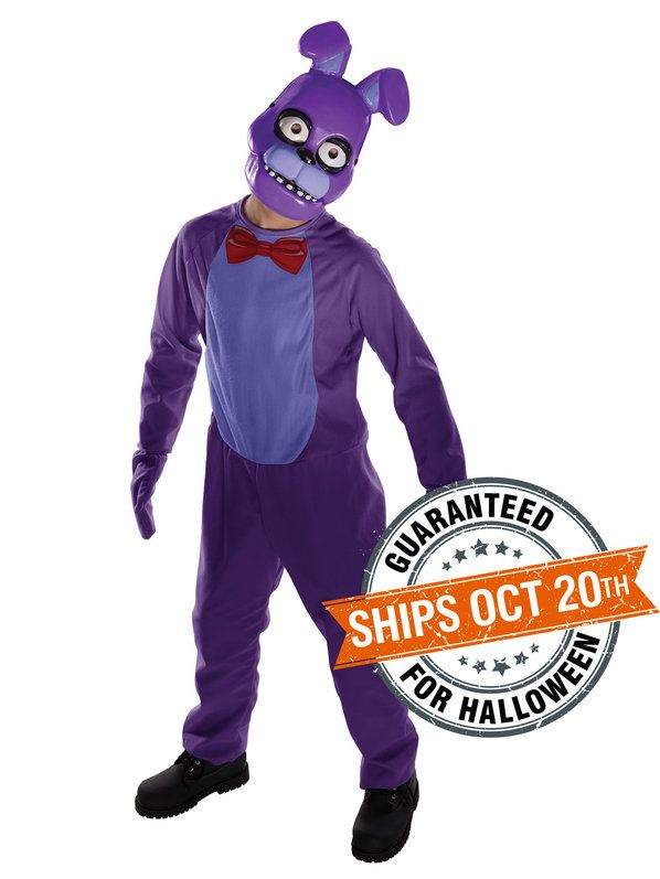 childrens five nights at freddys bonnie costume bonnie costumewholesale halloween - Wholesale Halloween Costumes Phone Number