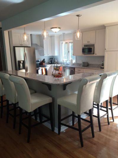 Raised ranch open kitchen | House