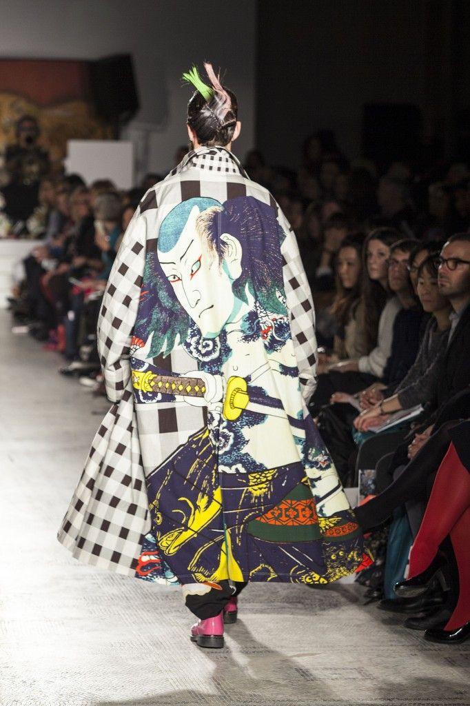 Kansai Yamamoto (for if I ever sew the coat)