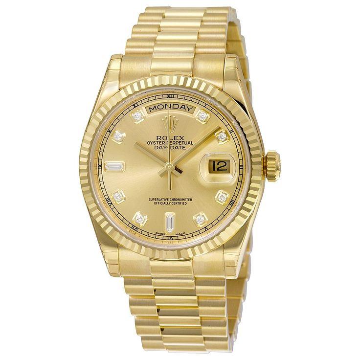 Armbanduhr rolex gold  48 besten Rolex Watches Bilder auf Pinterest | Rolex-Uhren ...