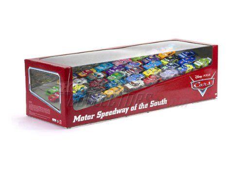 Disney / Pixar CARS Movie 155 Die Cast Factory Sealed Set Cars Motor Speedway of the South 36 Cars