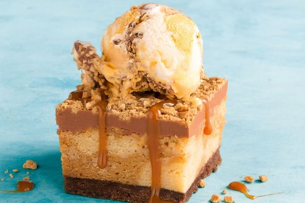 Thought your favourite Aussie toffee ice-cream couldn't get any better? Think again!