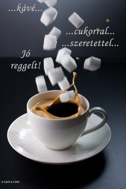 Jó reggelt kávéval