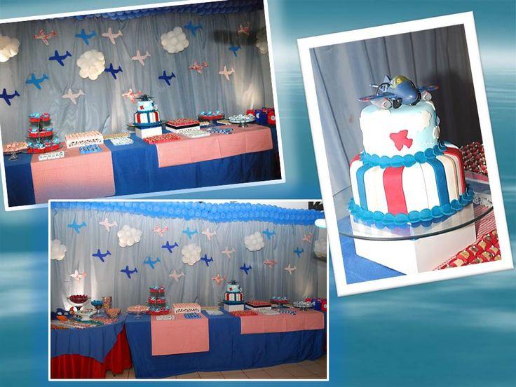 festa-de-aniversario-tema-avião-2: Of Celebrating, Festas Decoração, Festa Tema, Festa Decoração, Decoration, Festa Aviador, Festa Avio, For Party