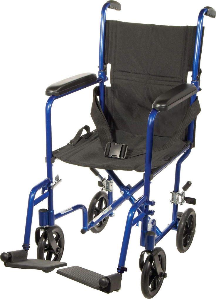 "Drive ATC series 17"" Aluminum Transport chair"