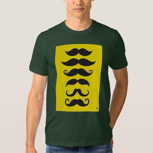 Mustache - yellow