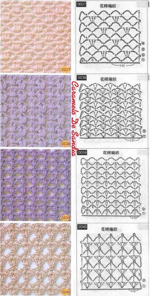 Crochét chart