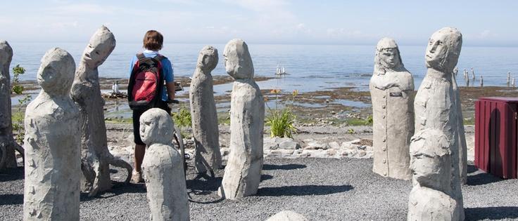 Centre d'art Marcel Gagnon, Sainte-Flavie, photo Tourisme Gaspésie. #Gaspesie